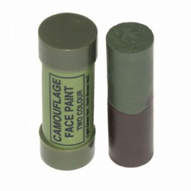 TUBE DE DEUX COULEURS CAMOUFLAGE BROWN/GREEN