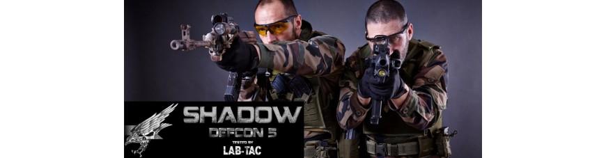GAMME SHADOW par DEFCON5 testé par LAB TAC
